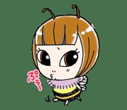 Honey bee sticker sticker #4748899