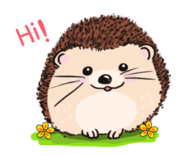 mimi hedgehog sticker #4750624