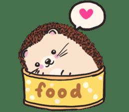 mimi hedgehog sticker #4750628