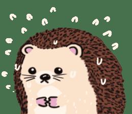 mimi hedgehog sticker #4750630