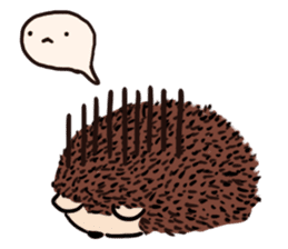 mimi hedgehog sticker #4750631