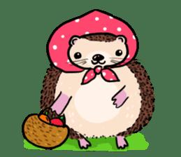 mimi hedgehog sticker #4750633