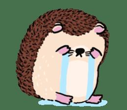 mimi hedgehog sticker #4750634