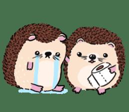 mimi hedgehog sticker #4750635