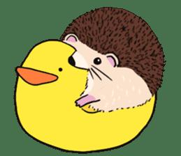 mimi hedgehog sticker #4750638