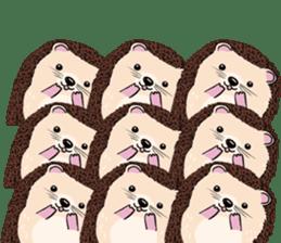mimi hedgehog sticker #4750641