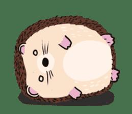 mimi hedgehog sticker #4750643