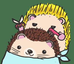 mimi hedgehog sticker #4750644