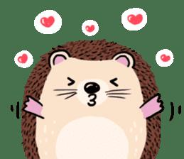 mimi hedgehog sticker #4750645