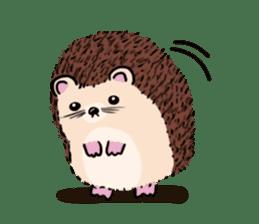 mimi hedgehog sticker #4750646