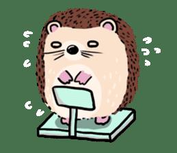 mimi hedgehog sticker #4750655