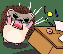 mimi hedgehog sticker #4750656