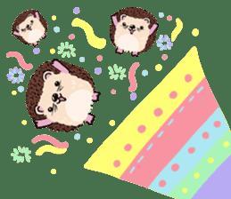 mimi hedgehog sticker #4750662