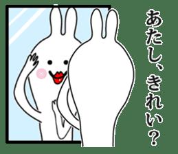 Oh! Funny Rabbit sticker #4750785