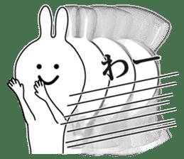 Oh! Funny Rabbit sticker #4750786