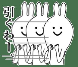 Oh! Funny Rabbit sticker #4750789
