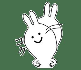 Oh! Funny Rabbit sticker #4750790