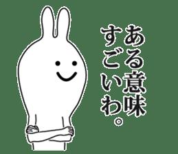 Oh! Funny Rabbit sticker #4750796