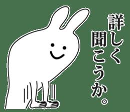 Oh! Funny Rabbit sticker #4750802