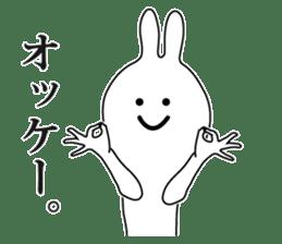 Oh! Funny Rabbit sticker #4750805