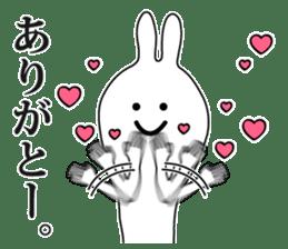 Oh! Funny Rabbit sticker #4750807