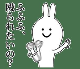 Oh! Funny Rabbit sticker #4750808