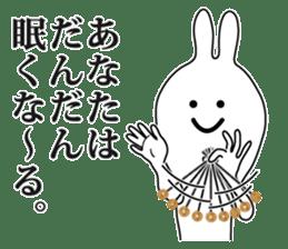 Oh! Funny Rabbit sticker #4750809
