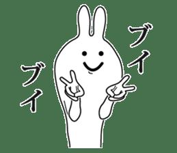 Oh! Funny Rabbit sticker #4750810