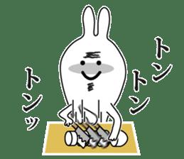 Oh! Funny Rabbit sticker #4750812