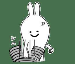 Oh! Funny Rabbit sticker #4750813
