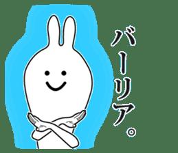 Oh! Funny Rabbit sticker #4750816