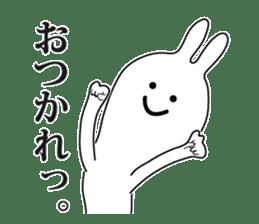 Oh! Funny Rabbit sticker #4750818