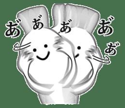 Oh! Funny Rabbit sticker #4750821
