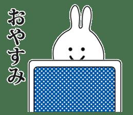Oh! Funny Rabbit sticker #4750822