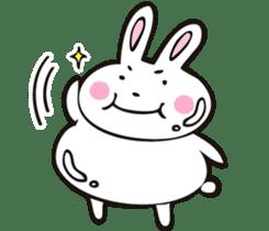 Sumo Rabbit sticker #4751267