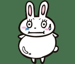 Sumo Rabbit sticker #4751268