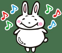 Sumo Rabbit sticker #4751273