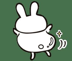 Sumo Rabbit sticker #4751274