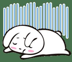 Sumo Rabbit sticker #4751277
