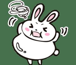 Sumo Rabbit sticker #4751278