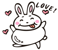Sumo Rabbit sticker #4751279