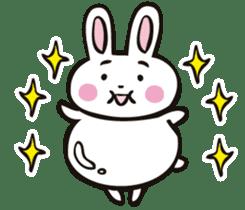 Sumo Rabbit sticker #4751280