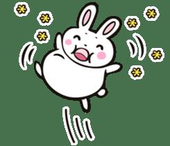 Sumo Rabbit sticker #4751282