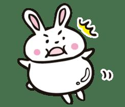 Sumo Rabbit sticker #4751289