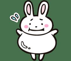 Sumo Rabbit sticker #4751295