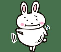Sumo Rabbit sticker #4751296