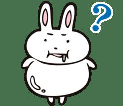 Sumo Rabbit sticker #4751300