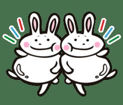 Sumo Rabbit sticker #4751303