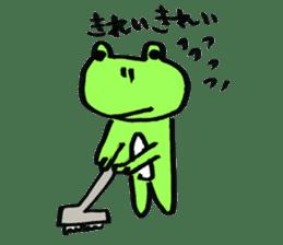 yuruyurukaeru sticker #4751899