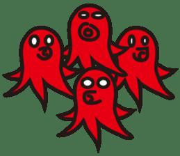 Octopus Viennese Sticker sticker #4752119